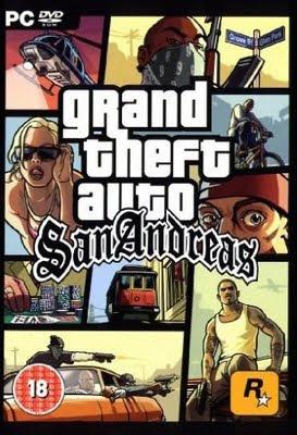 GTA San Andreas DVD
