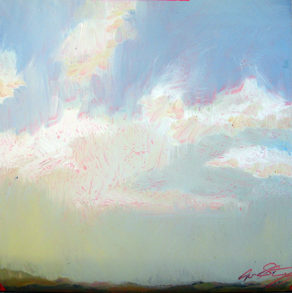 Oil painting, Joa Stenning Sept. 2011