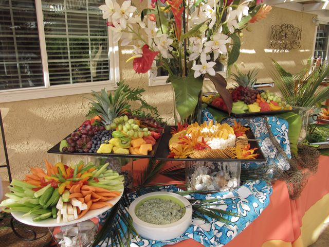 Fresh Ideas Catering A 50th Anniversary Luau