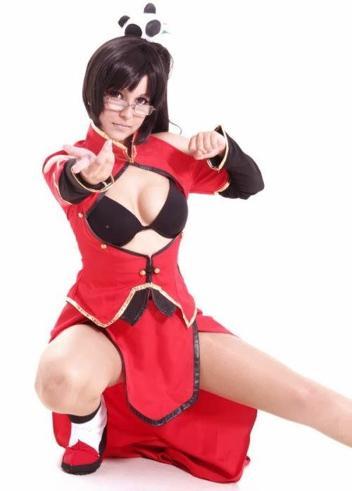 Gabriela Almeida Shermie deviantart cosplay beautiful girl games comics sensual Litchi Faye Ling from BlazBlue