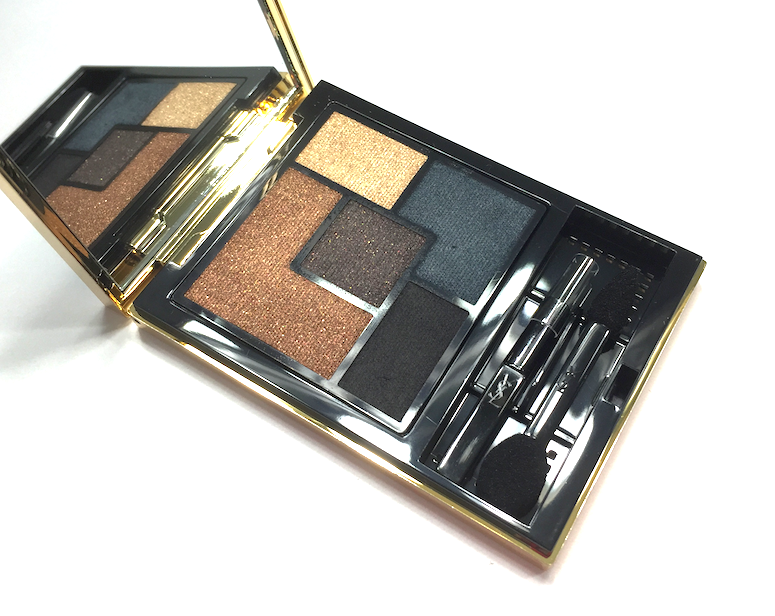 YSL Fall 2014 - Cuirs Fétiches Couture Palette, Rouge Pur Couture The Mats #210 Nude Acoustic, Gloss Volupté #106 Cuir Grenat