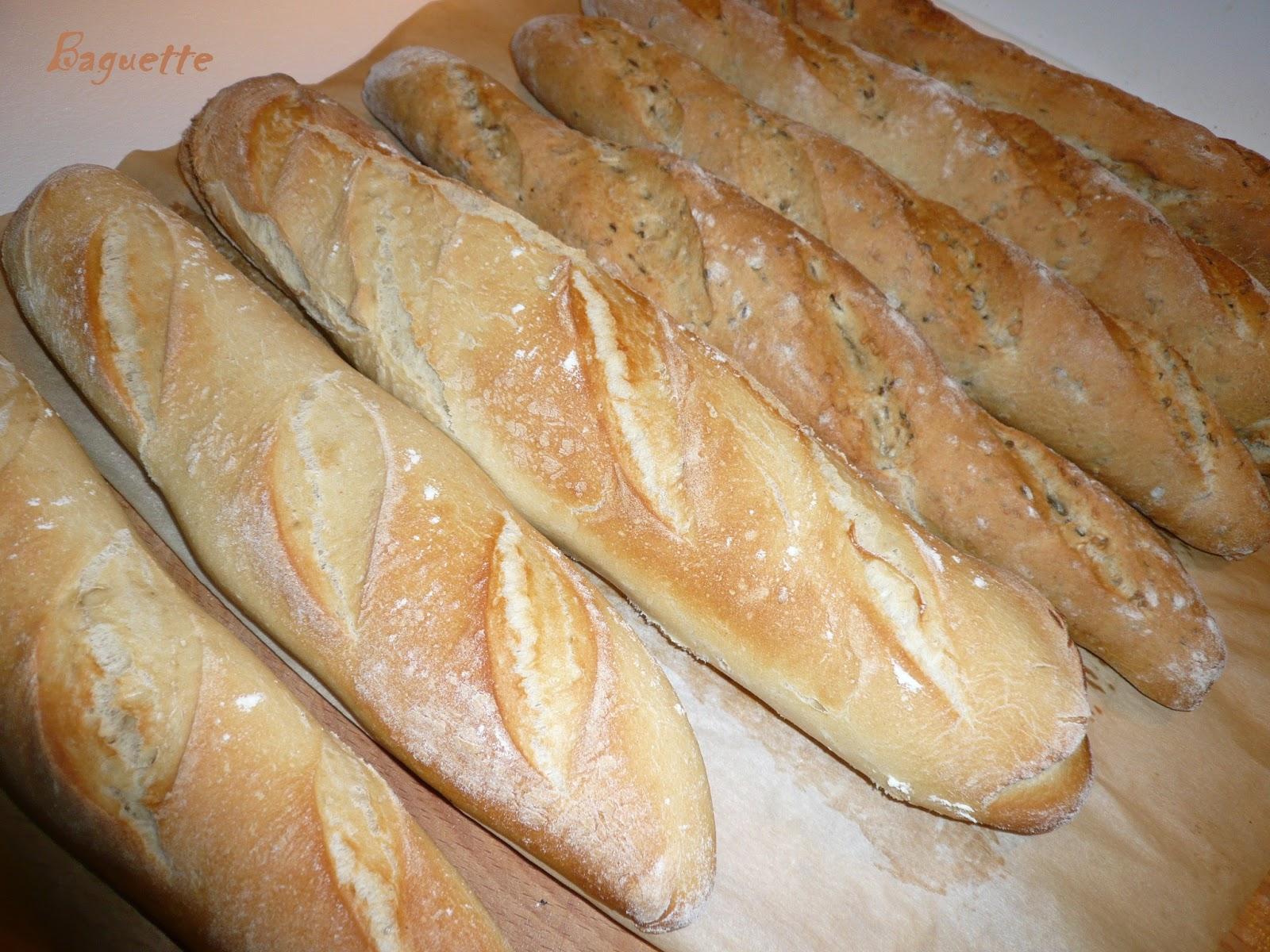 Mes petites douceurs baguette maison for Baguette du maison