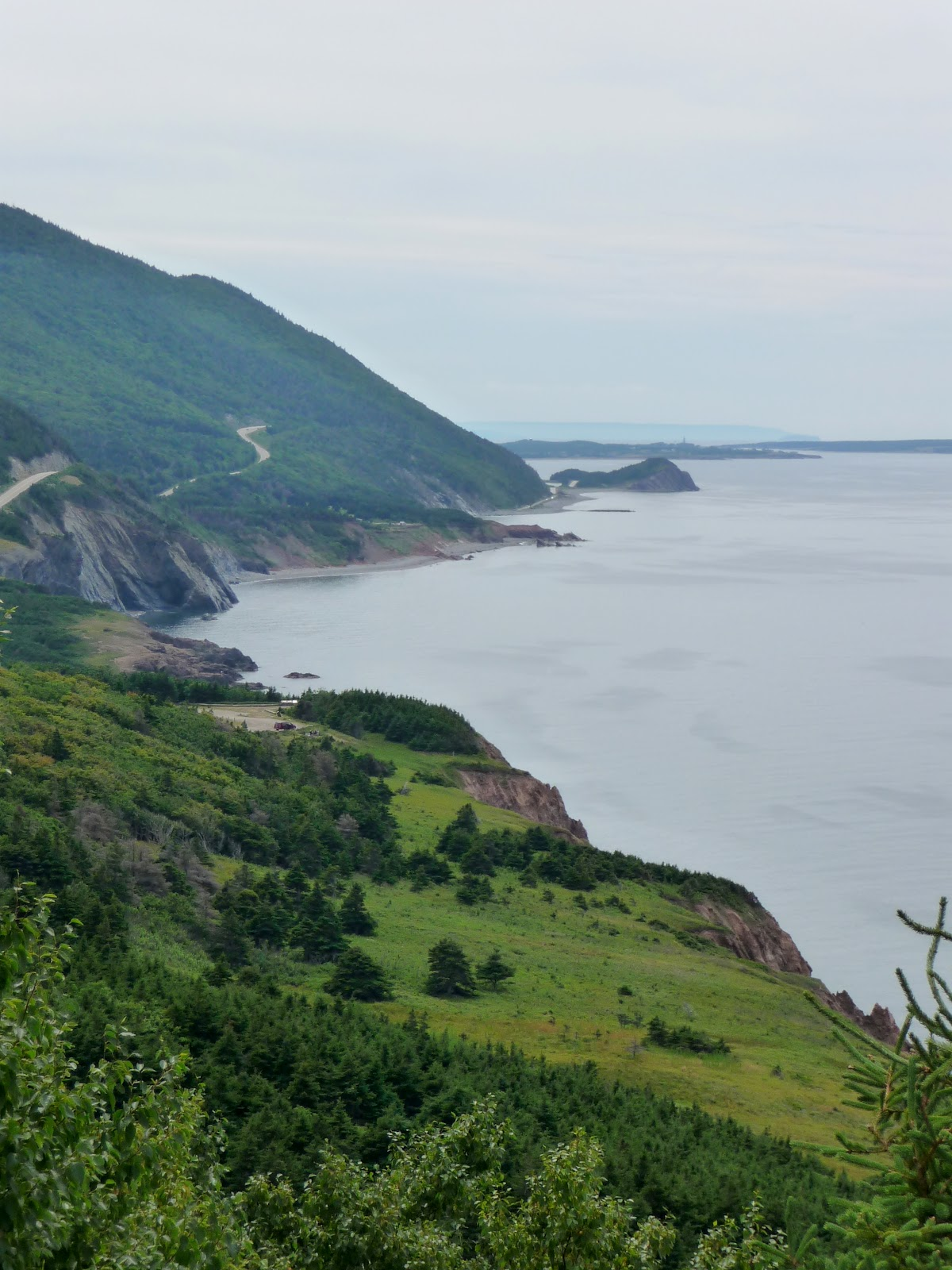 Bill And Nancy Wandering The Cabot Trail