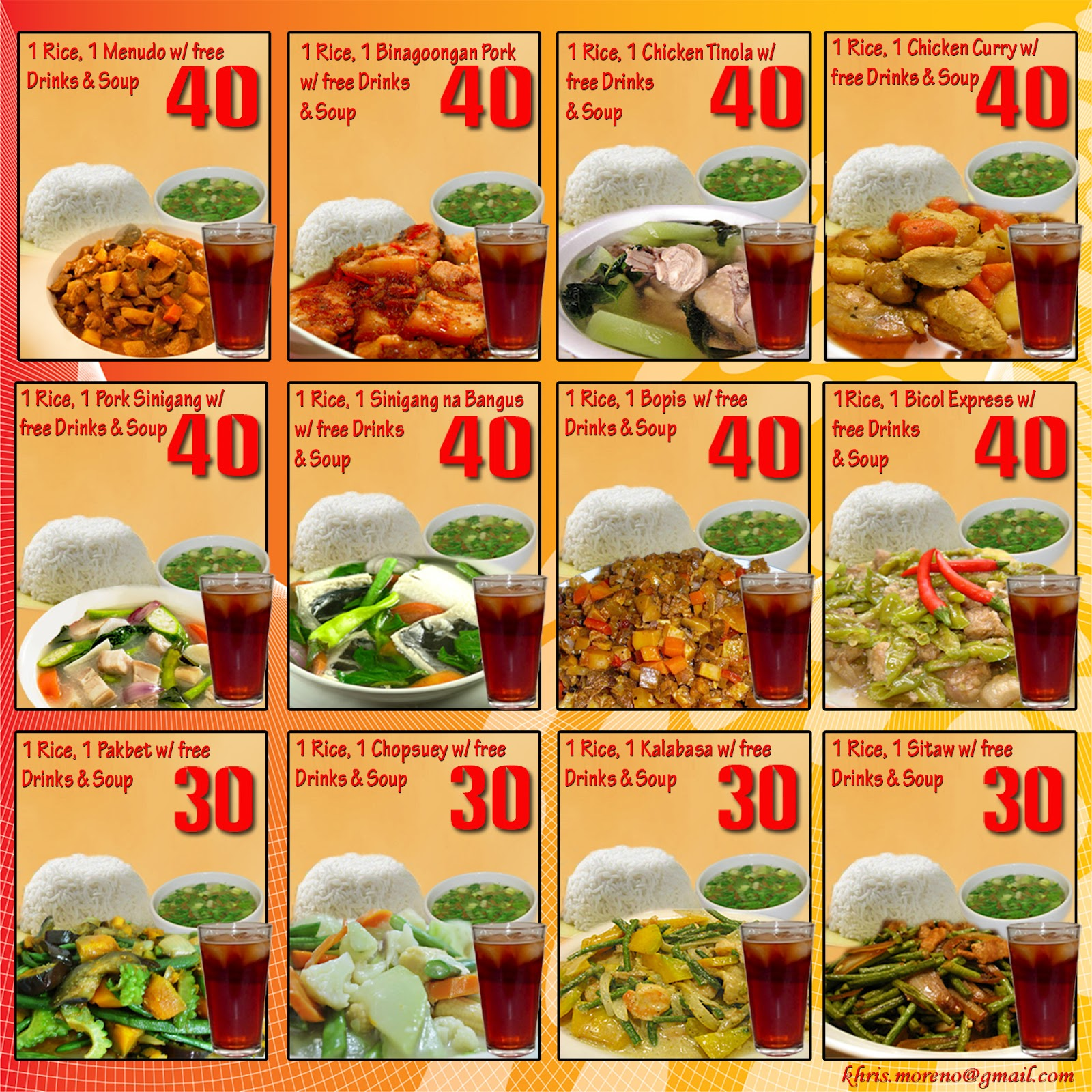 ESTRANO39;s TAPSILOGAN: VALUE MEAL