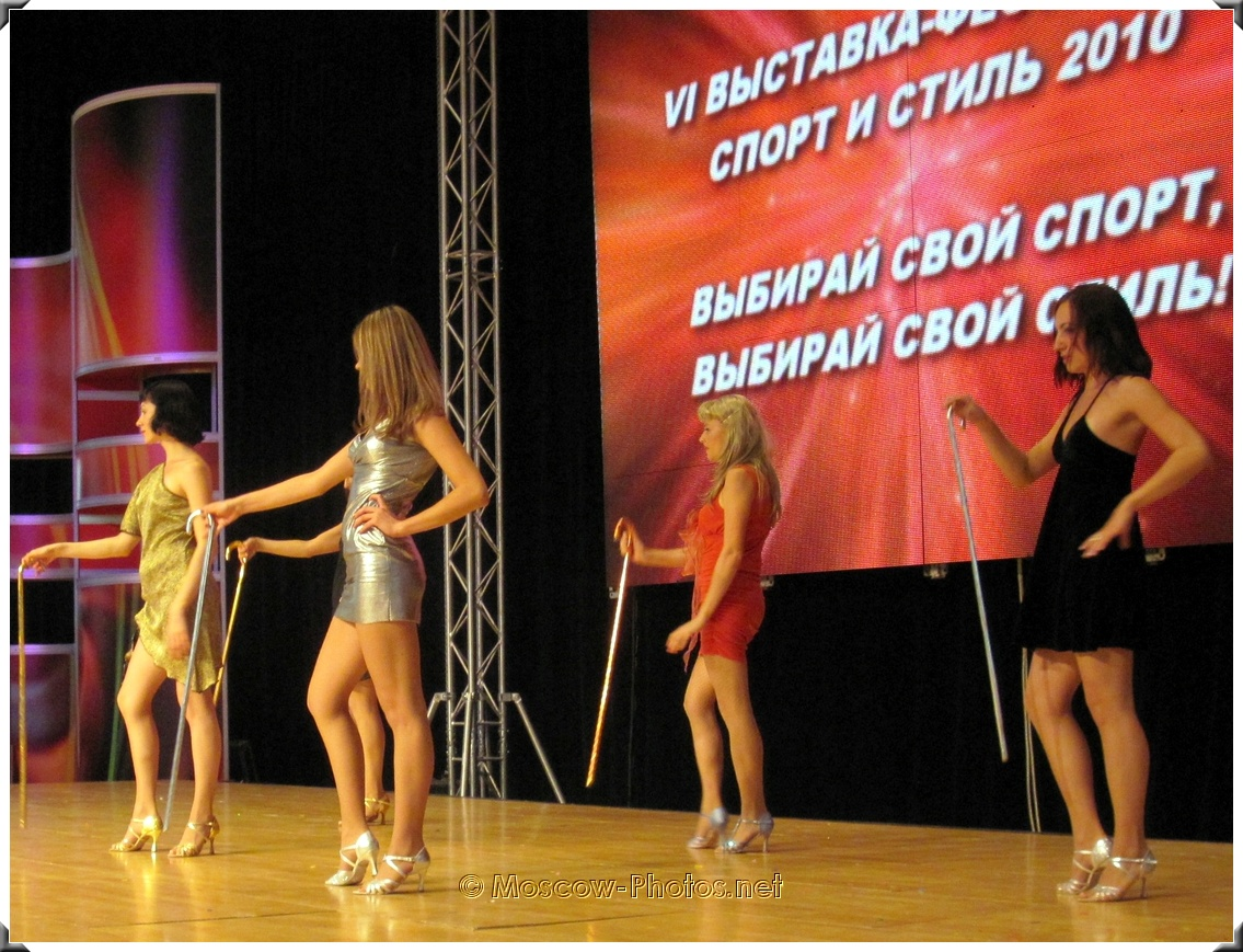 Fitness Moscow. Sport and Style - 2010.