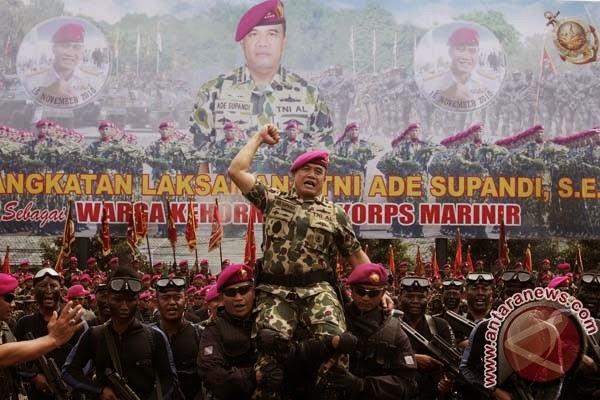Kepala Staf TNI AL jadi warga kehormatan Korps Marinir