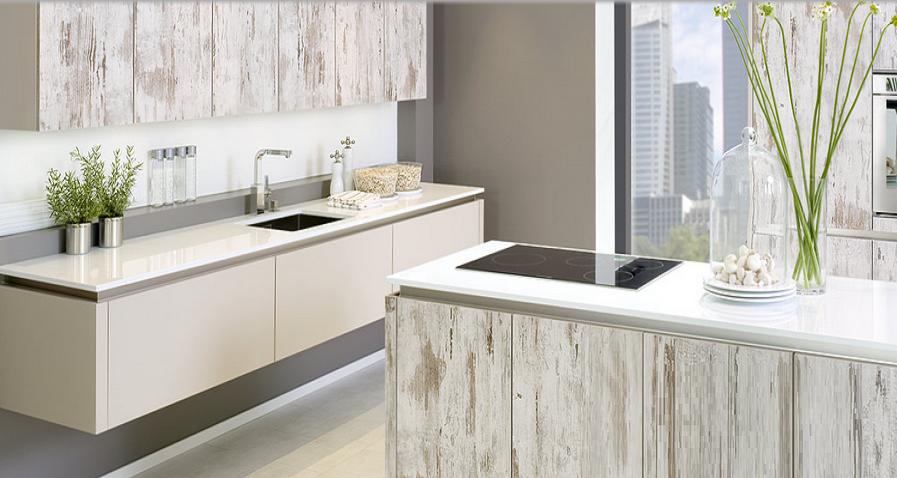Muebles de cocina estilo retro: podemos apilar detalles a modo de ...