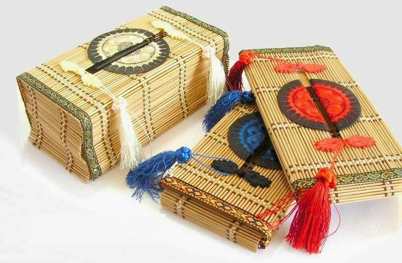 ... kerajinan tangan yang terbuat dari bambu contoh kerajinan tangan dari