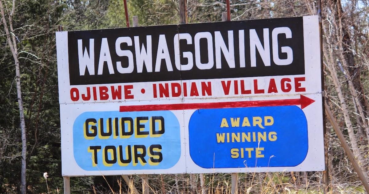 Wisconsin Historical Markers Waswagoning Ojibwe Indian