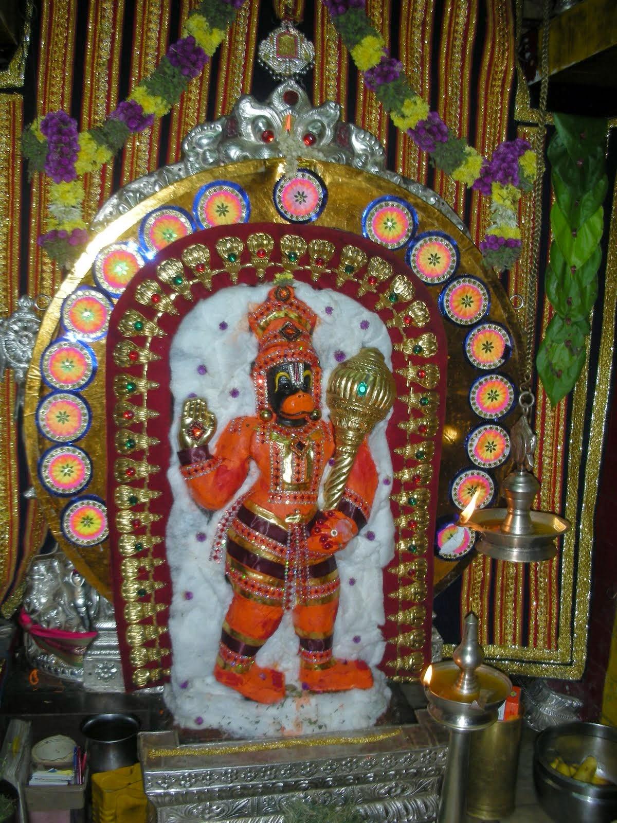 getwell anjaneyar temple tirunelveli