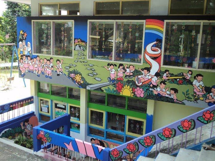 Ingraphics lukis dinding mural for Mural untuk kanak kanak