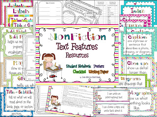Nonfiction Text Features Resources
