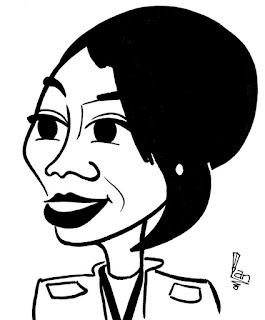 Perri Shakes-Drayton caricature