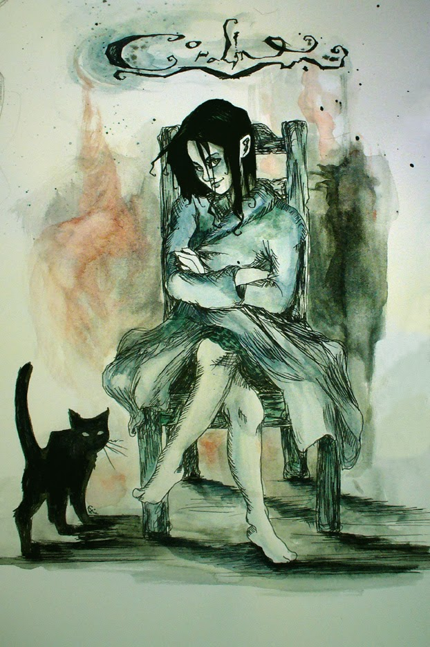 Historias para no maullar: CORALINE, by Neil Gaiman