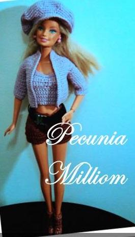 Barbie Moda - Col. 4 por Pecunia MM