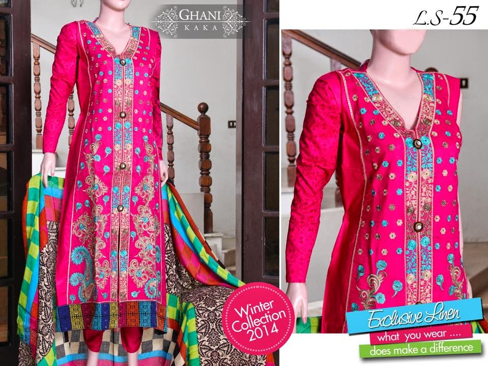 Ghani Textile winter dress collection 2015