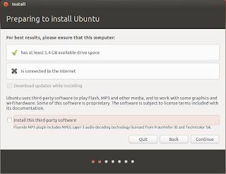 Preparing to install Ubuntu 13.04