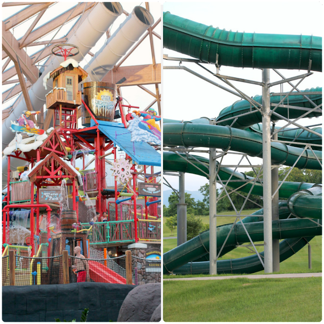 The Massanutten WaterPark has both indoor and outdoor areas and is family friendly fun for all ages. #BlueRidgeBucket #Trekarooing