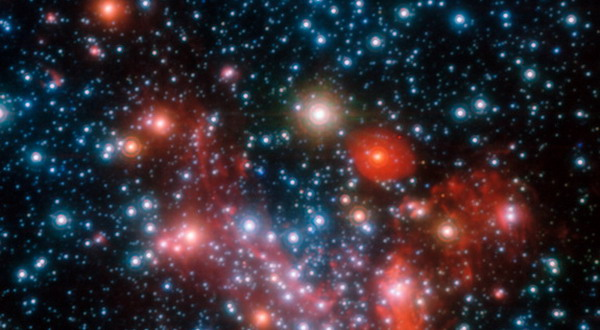 Foto Keindahan Pusat Galaxi Bima Sakti Di Luar Angkasa