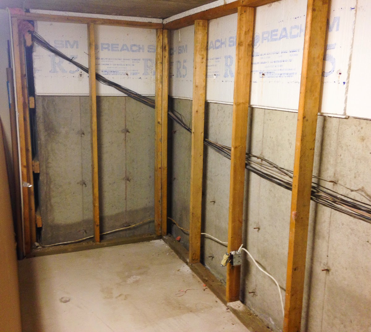 The Fix It Blog Sorting Things Out Indoor Air Quality Project Part 2 Upgrading Basement