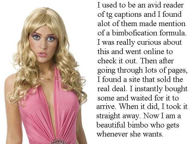 Bimbofication Formula TG Caption - Coerced into Skirts - Sissy Crossdressing Tales