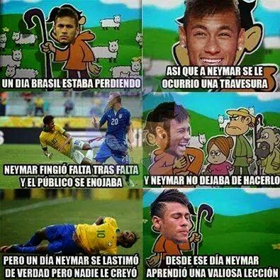 Neymar meme
