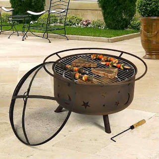 Enter to win a $190 Outdoor Classics Cosmic Fire Pit Grill. Ends 11/18.