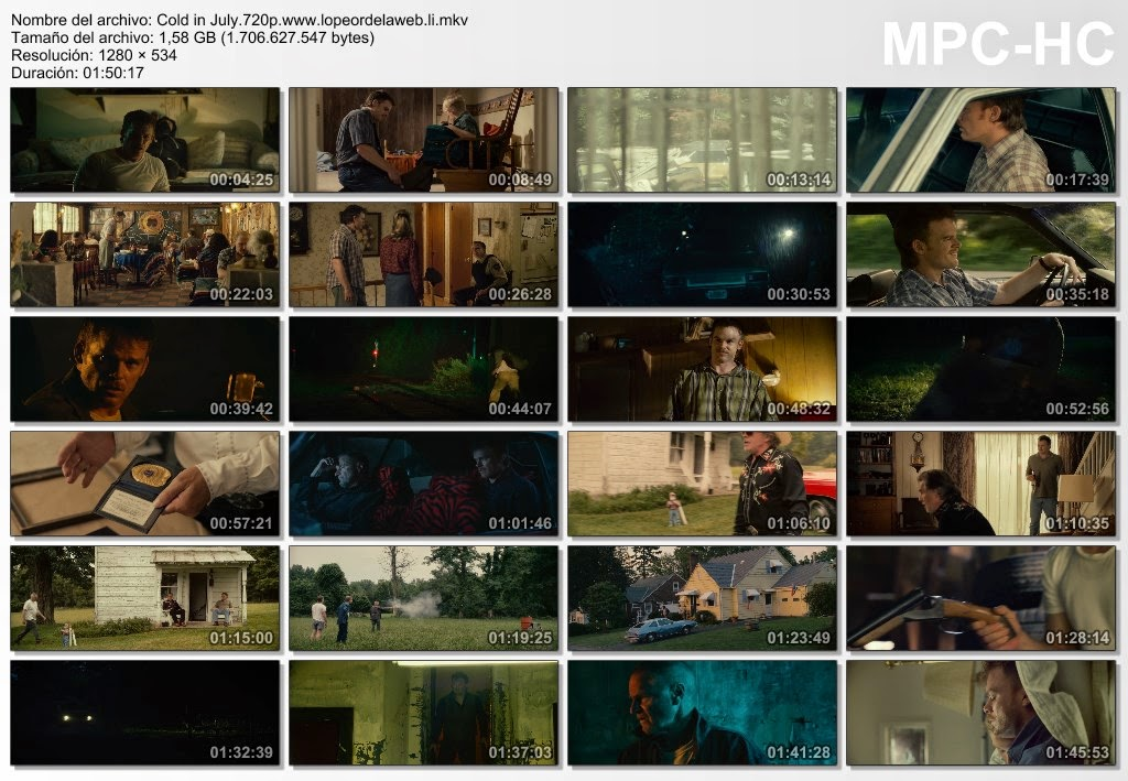 Frío en julio (2014) BRrip 720p Latino