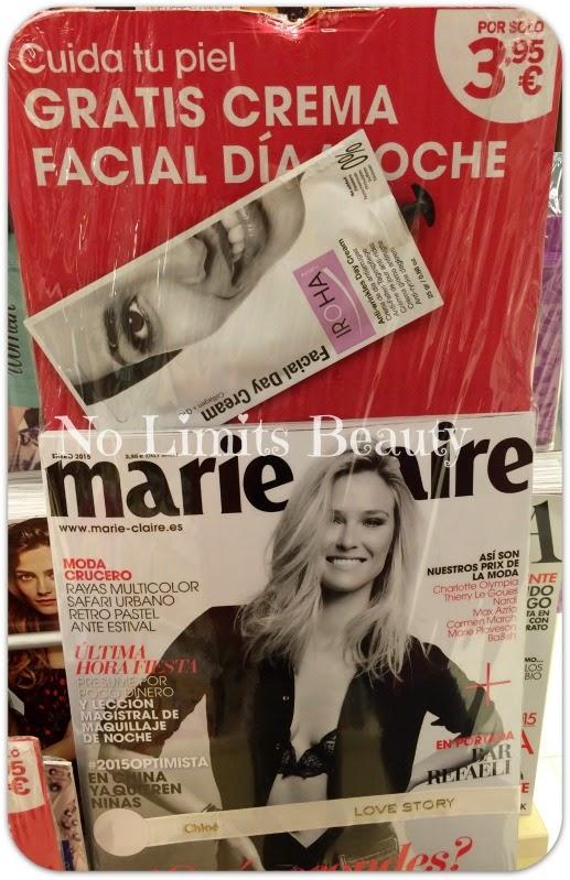 Regalos revistas Enero 2015: Marie Claire