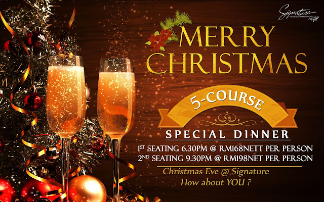 Signature's upcoming Christmas Special Promotion