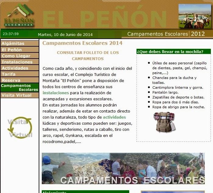 http://www.campingalgamitas.com/campa_esco_es.htm