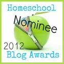 NOMINATED FOR BEST HOMESCHOOL VARIETY BLOG