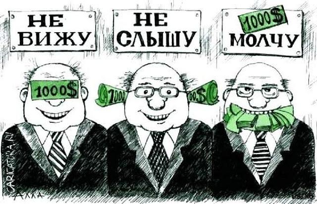 Список 5 самых коррупционных стран мира