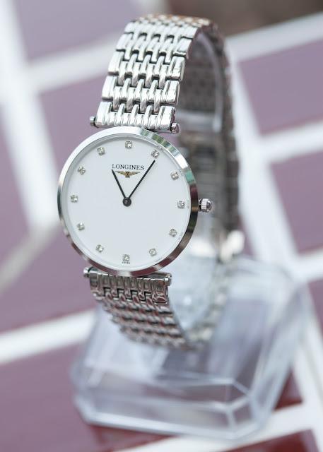 Đồng hồ nam dây inox cao cấp giá rẻ Longines