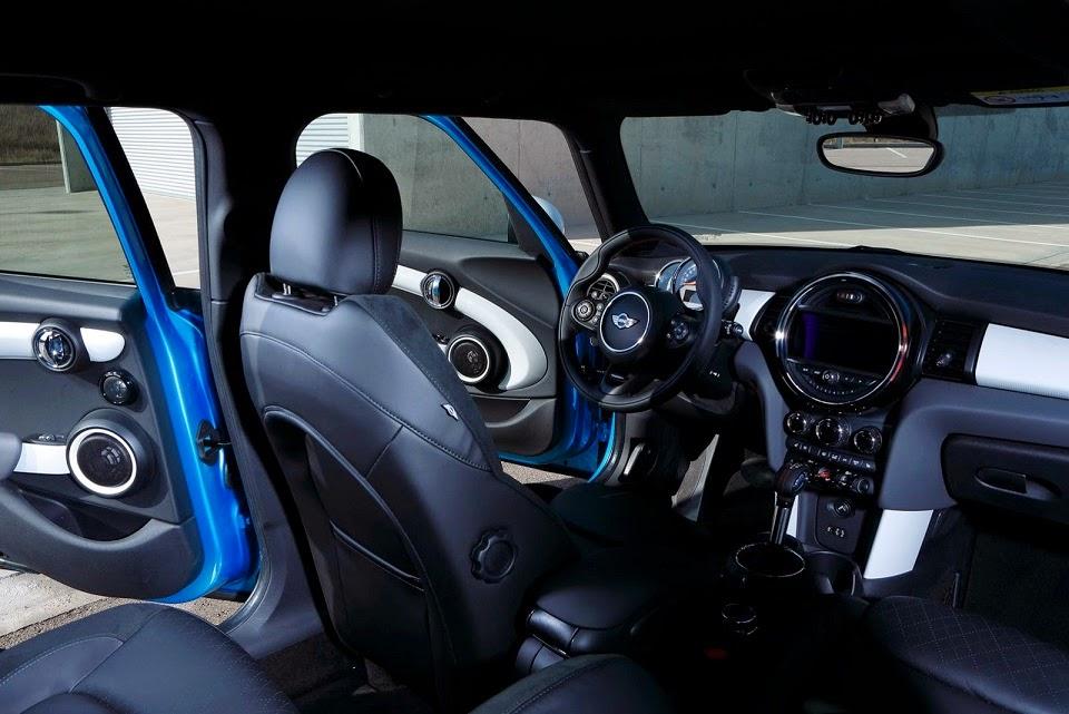 Mini 5 porte 2014 interni