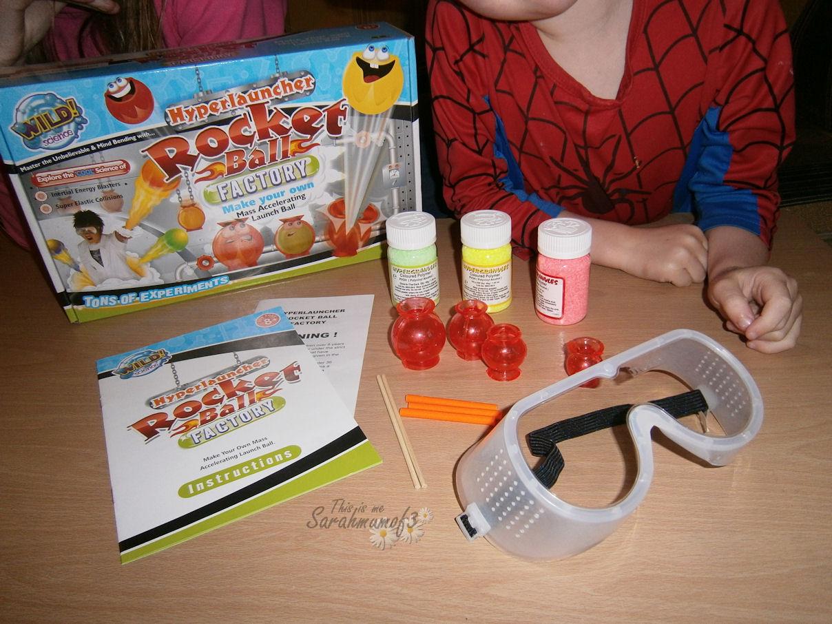 bouncy ball kit instructions