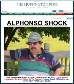 ALPHONSO SHOCK: <br>A-Rod is stupid!
