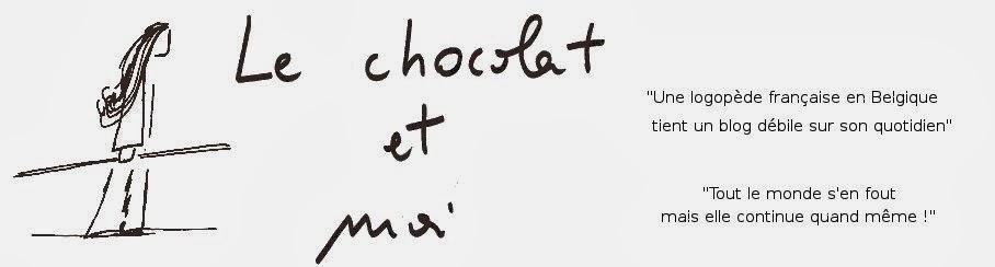 Le chocolat et moi