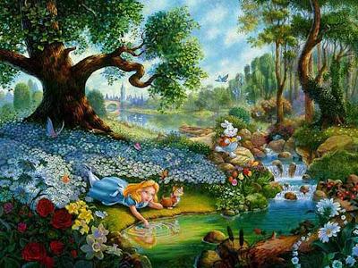 أليس-في-بلاد-العجائب-لوحة-فنية