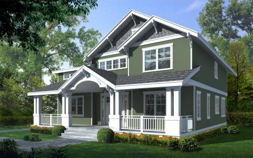 Carriage house plans craftsman style home plans - American design homes ...