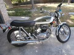 1971 BSA A^% Thunderbolt