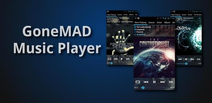 GoneMAD Music Player full v1.4.8 Apk