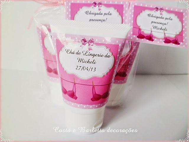 lembrancinhas criativas para chá de lingerie