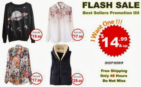Romwe End of Month Bestseller Flash Sale September