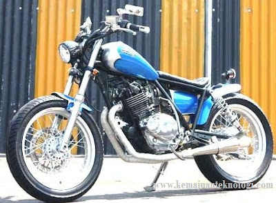 Modifikasi Motor Suzuki Thunder 250