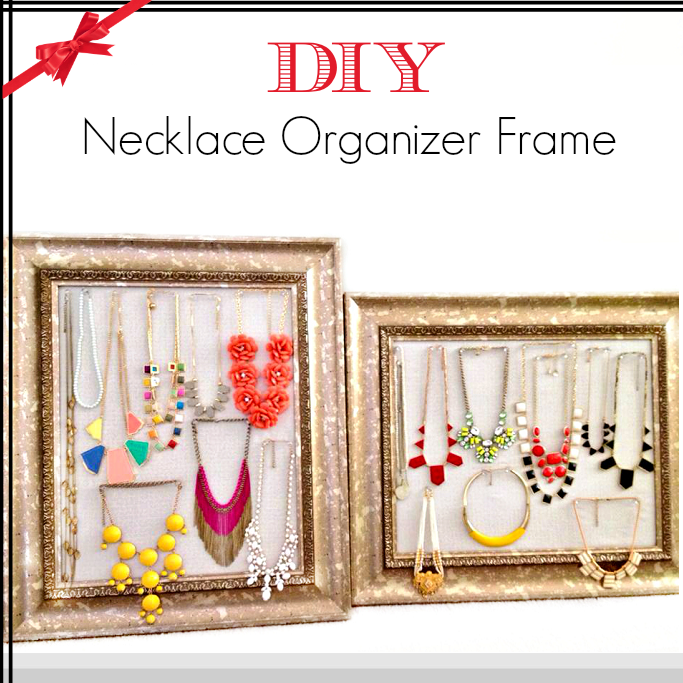Diy Modern Hanging Jewelry Organizer: Style-Delights: DIY Tutorial: How To Make Necklace