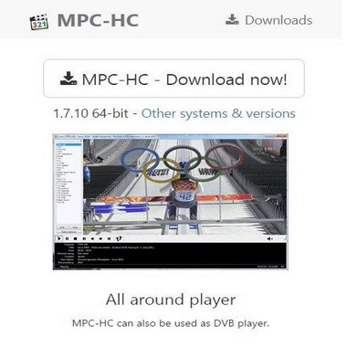 mpc hc org - media player