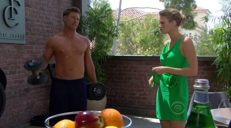 Jacob Young Shirtless In The Bold And The Beautiful