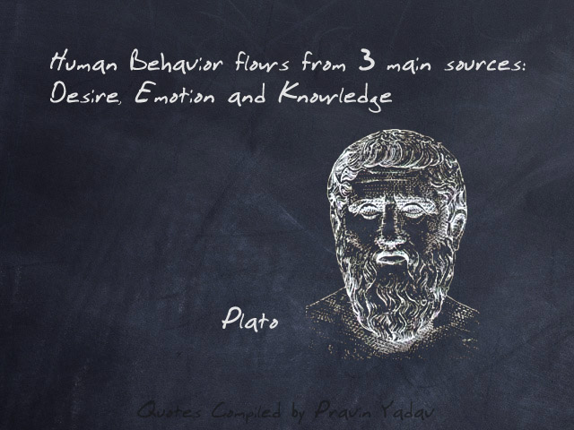 human face inspirational quote by plato