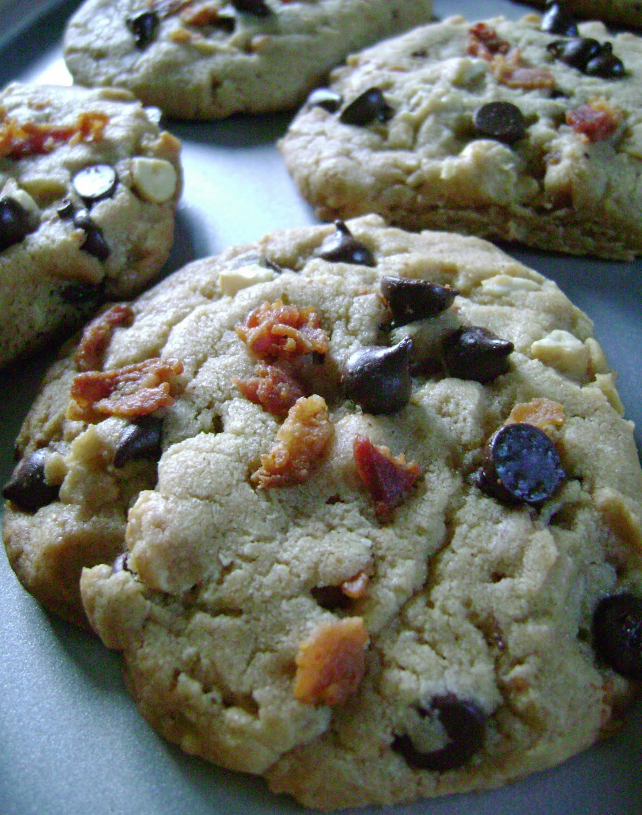 ... Cooking With Melissa?: Peanut Butter-Chocolate Chip-Bacon Cookies